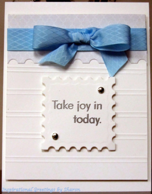 Take Joy In Today